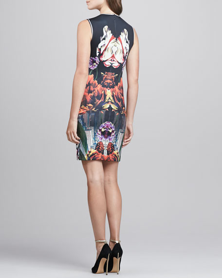 Deco City Printed Dress