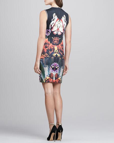 Deco City Printed Dress