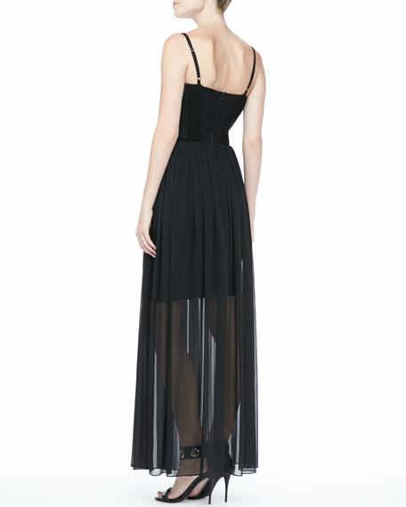 Shakira Bustier Maxi Dress