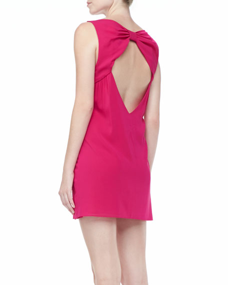 Trina Bow-Back Dress