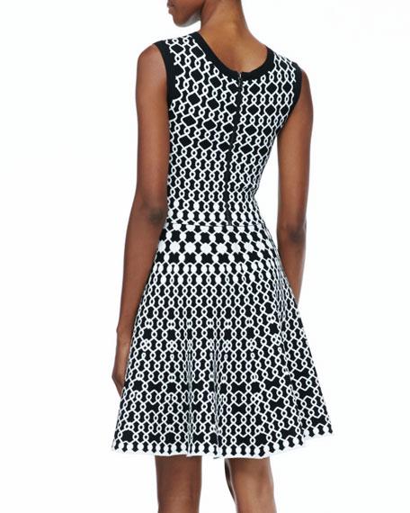 Jaisey Printed A-Line Dress