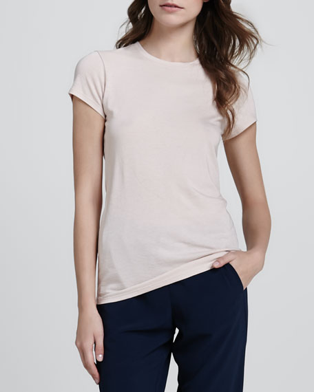 Short-Sleeve Jersey Tee, Blossom