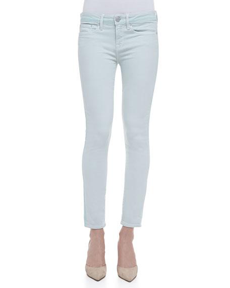 Dylan Ghost-Stripe Skinny Jeans