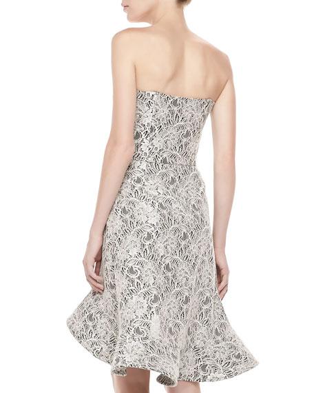Sierra Strapless Lace Dress