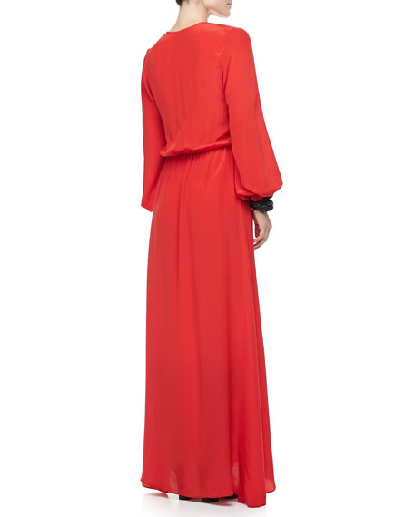 Philo Slit-Front Dress