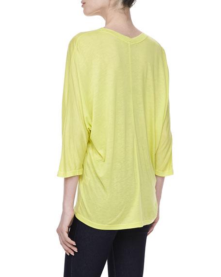 Boxy Jersey T-Shirt, Lemonade