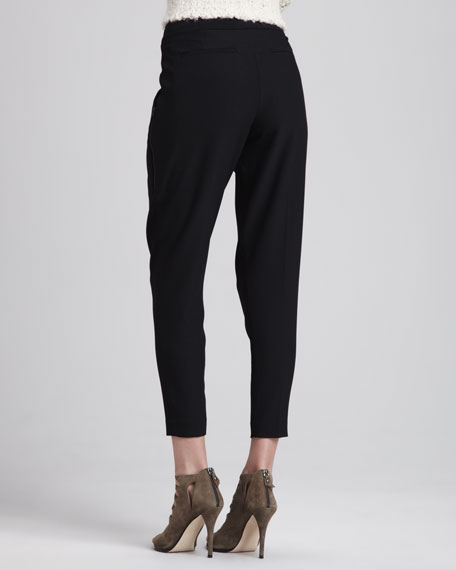 Peomi Slim Cropped Trousers