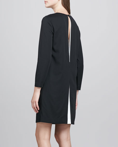 Landain Slit-Back Dress