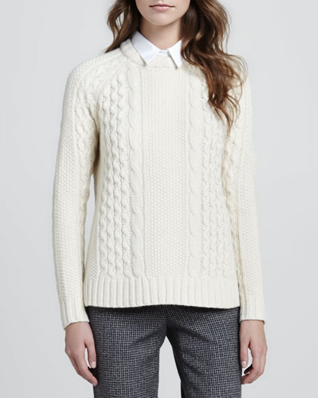 Innis Cable-Knit Sweater