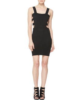 McQ Alexander McQueen Cutout Body-Con Dress