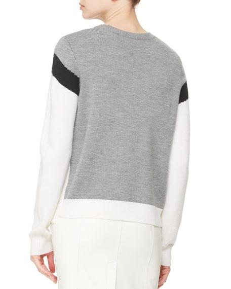 Daniel Zigzag Knit Sweater