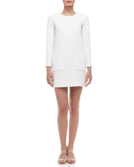 Cleo Quilted Knit Dress