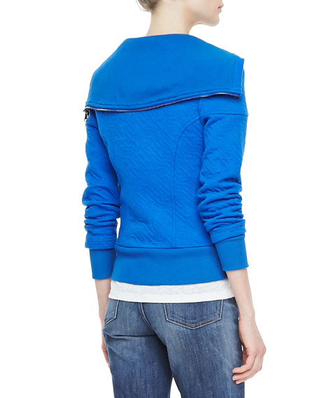 Cleo Textured Zip Jacket
