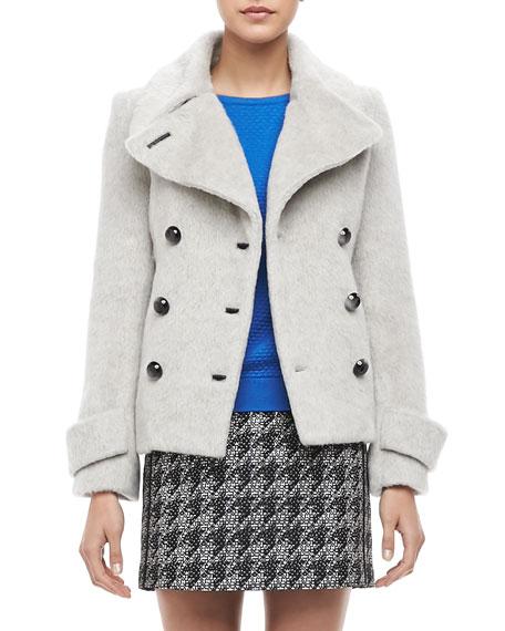 Ramona Fuzzy Pea Coat