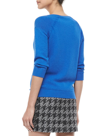 Veronica Textured Pullover Sweater
