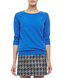 MARC by Marc Jacobs Veronica Textured Pullover Sweater