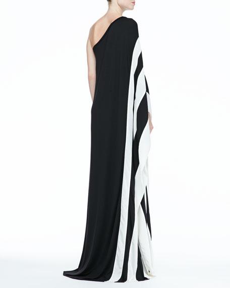 Azur One-Shoulder Maxi Dress