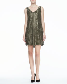 Rachel Zoe Tilly Sequined Tank Dress