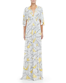 Rachel Pally Jersey Long Print Caftan Dress, Women's