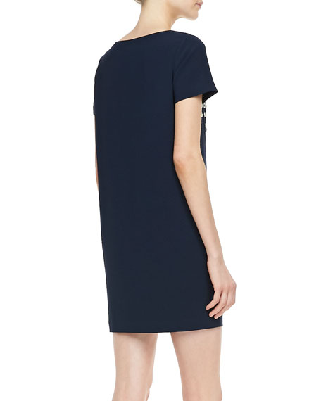 Owen Sugar Studs Short-Sleeve Dress