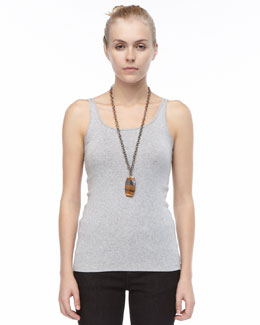 Eileen Fisher Slim Baby Rib Tank, Women's