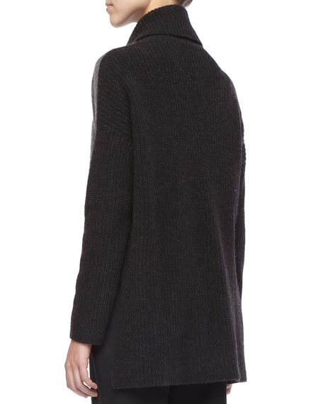 Wool Knit Boxy Sweater