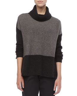 Eileen Fisher Wool Knit Boxy Sweater