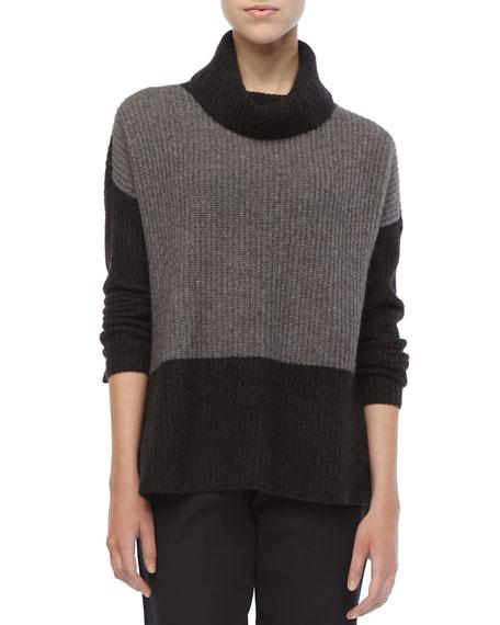 Eileen Fisher Wool Knit Boxy Sweater, Petite