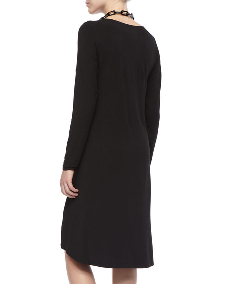 Comfortable A-Line Jersey Dress, Women's