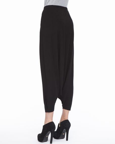 Lightweight Jersey Harem Pants