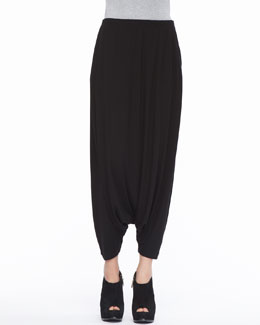 Eileen Fisher Lightweight Jersey Harem Pants, Petite