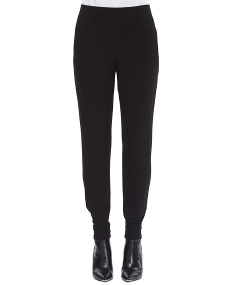 Jersey Slouchy-Fit Pants