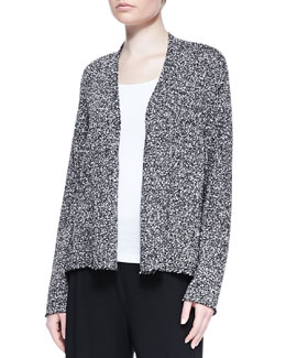 Eileen Fisher Nubby Cotton Cardigan, Women's