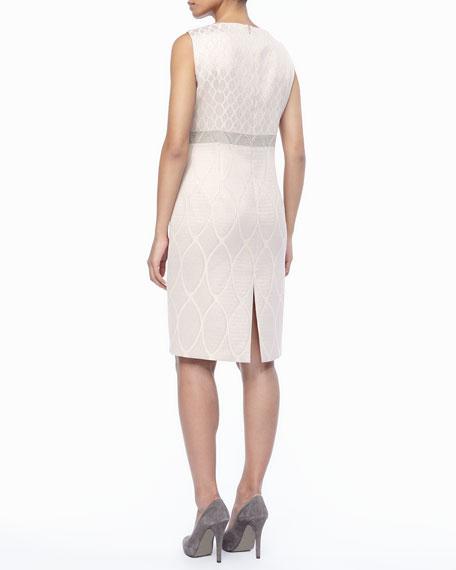 Detachable Sleeve Deco Dress, Women's