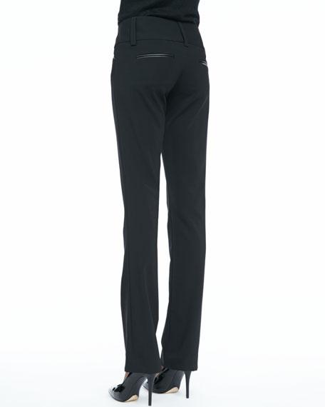 Olivia Straight-Leg Pants