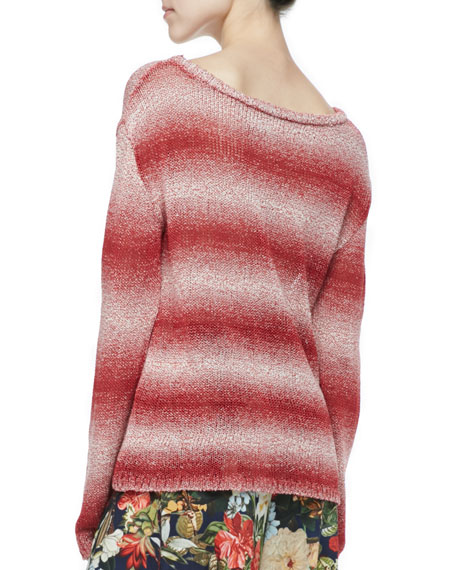 Ethan Ombre-Stripe Sweater