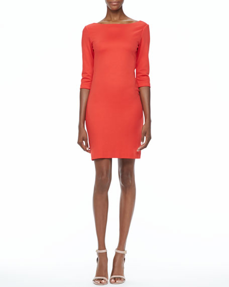 Selby Boat-Neck Dress