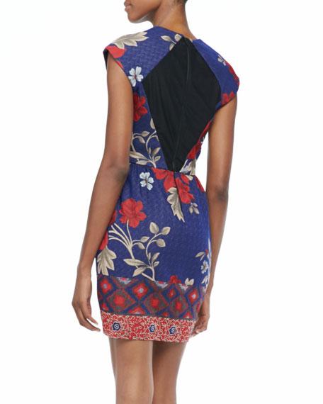 Laguna Floral-Print Dress