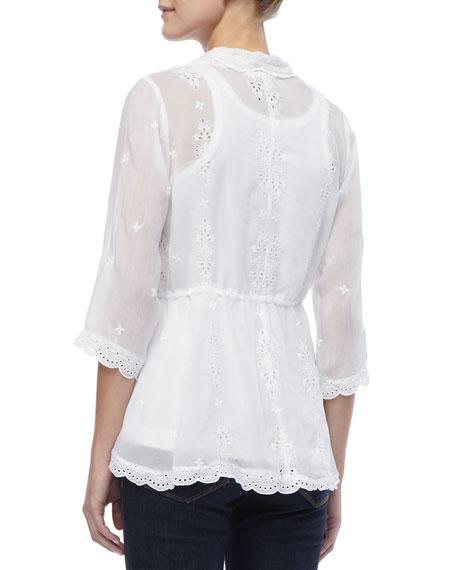 Lacy Vivienne Rayon Jacket