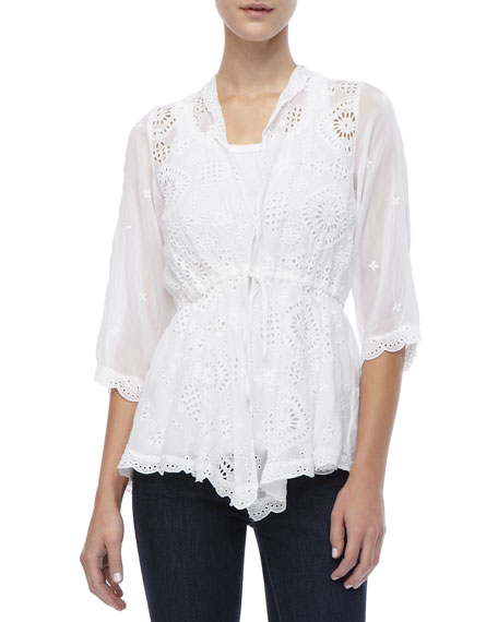 Lacy Vivienne Rayon Jacket