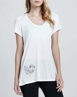 Love, Simdog Fly Away Wing-Back Tee