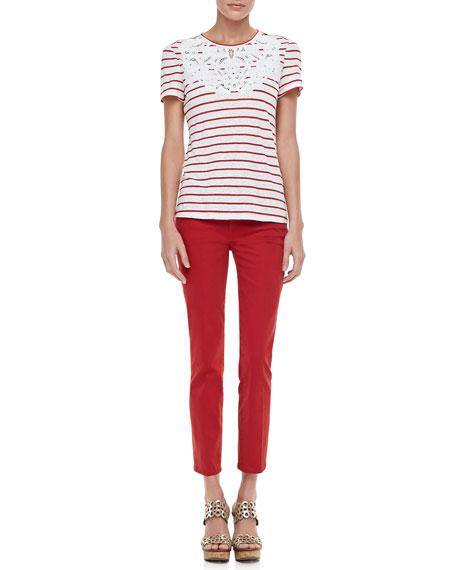 Alexa Cropped Skinny Jeans