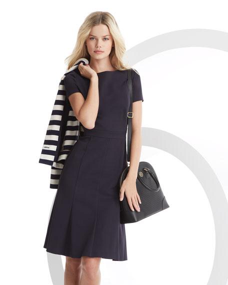 Shania Flare-Skirt Dress