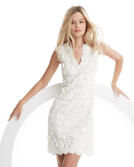 Merida Floral-Lace Dress