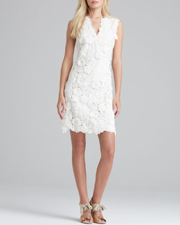 Tory Burch Merida Floral-Lace Dress