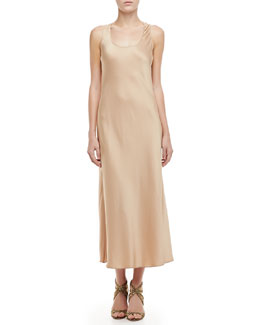 Charmeuse Long Tank Nightgown