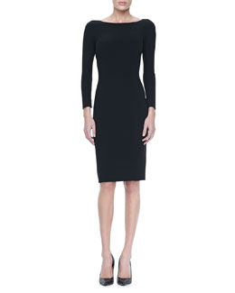 Michael Kors  Slim Crepe Dress