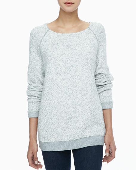 Zantina Lace-Jacquard Sweater