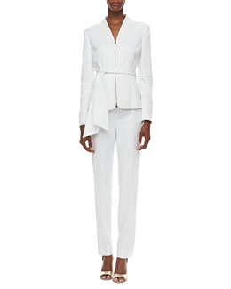 Albert Nipon Crepe Two-Piece Suit