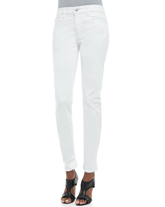 Pennie Straight-Ankle Jeans